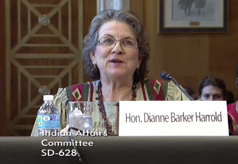 The Honorable Dianne Barker Harrold, Tribal Court Judge, Pawnee Nation of Oklahoma, informed the Committee that crime victims' needs in Indian country have yet to be adequately acknowledged, understood, and addressed.