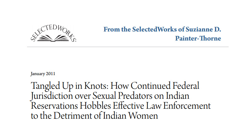 tangled up in knots how continued federal jurisdiction over sexual